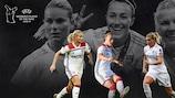 Nominadas para el premio a Jugadora del Año: Bronze, Hegerberg, Henry