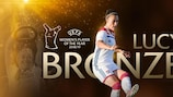 Lucy Bronze, Jugadora del Año de la UEFA