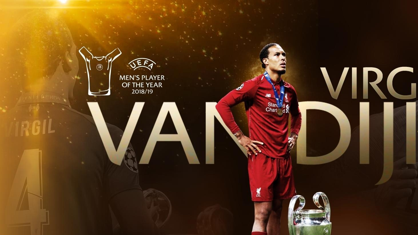 Virgil Van Dijk Wins Uefa Men S Player Of The Year Award Uefa Champions League Uefa Com