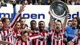 PSV won a fourth successive Eredivisie title in 2007/08