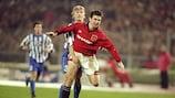 Eric Cantona era estrela no Manchester United