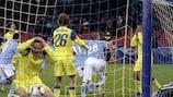Cavani catapults Napoli past stunned Steaua