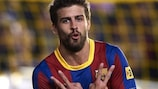 Gerard Piqué talked UEFA.com through his Barcelona team-mates