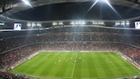 The Fußball Arena München is the venue for this season's UEFA Champions League final