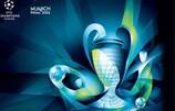 Das Logo für das Finale der UEFA Champions League 2012 in München