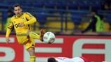 Sebastián Blanco marcó el tercer gol del Metalist esta noche