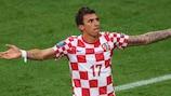 L'attaquant croate Mario Mandžukić rejoint le FC Bayern München