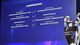 The champions path draw