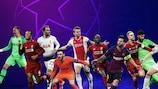 Os nomeados para os prémios por posição da UEFA Champions League