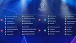 ¡Sorteada la fase de grupos de la Champions League!