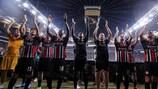 Eintracht Frankfurt secured their group stage berth on Thursday