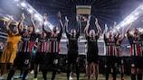 Eintracht Frankfurt ist wieder in der Gruppenphase am Start