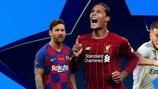 Confermate le rose di Champions League