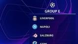 Champions League: l'analisi del Gruppo E