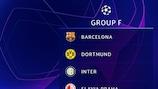 Die Gruppe F der UEFA Champions League