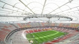 Apply to be at the magnificent National Stadium Warsaw for the climax of the UEFA Europa League