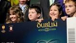 Fußballfans in Irland konnen nun Karten für das Finale der UEFA Europa League beantragen