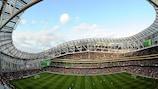 Die Dublin Arena, Schauspiel des Endspiels der UEFA Europa League