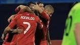Dinamo succumb to lone Di María goal