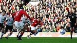 Giggs won the game for United from the spot