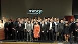 MESGO graduates at the House of European Football in Nyon