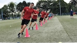 Referees' training session in Zagreb