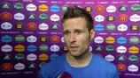 Yohan Cabaye felt his side made a sluggish start against England