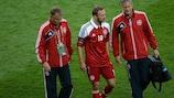 Dennis Rommedahl will miss Denmark's final Group B game