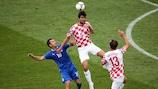 Croatia met Italy in Poznan last Thursday