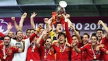 Defending champions Spain are in Pot 1 for the draw in Nice