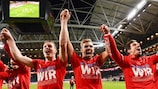 Austria have gone through UEFA EURO qualifying for the first time after winning in Sweden