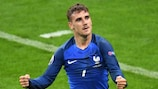 Antoine Griezmann has been named Player of the Tournament