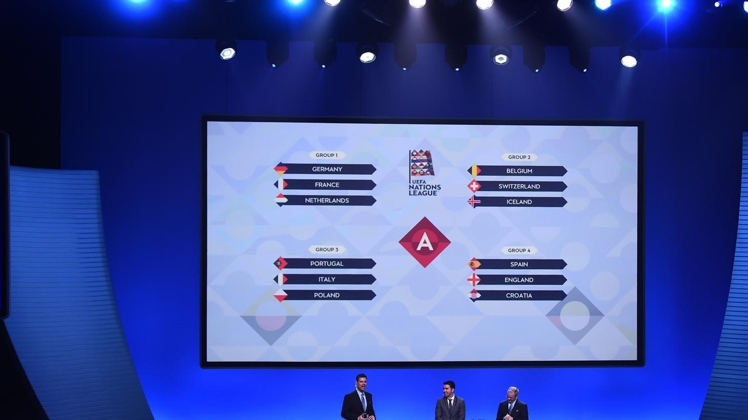Uefa Nations League 2018 19 League Phase Draw Uefa Nations League Uefa Com