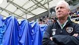Giovanni Trapattoni espera que a Irlanda ultrapasse a tecnicamente superior Croácia