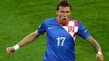 Mario Mandžukić a marqué deux fois dans la victoire 3-1
