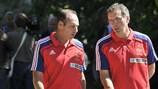 Alain Boghossian (à esquerda) fez parte, juntamente com o actual seleccionador, Laurent Blanc, da selecção francesa que se sagrou campeã do Mundo em 1998