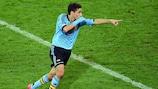 Jesús Navas deu a vitória à Espanha sobre a Croácia