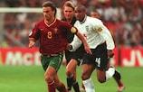 João Pinto empatou para frente à Inglaterra, em 2000