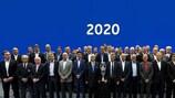 Il Comitato Esecutivo UEFA e i rappresentanti delle federazioni interessate a UEFA EURO 2020