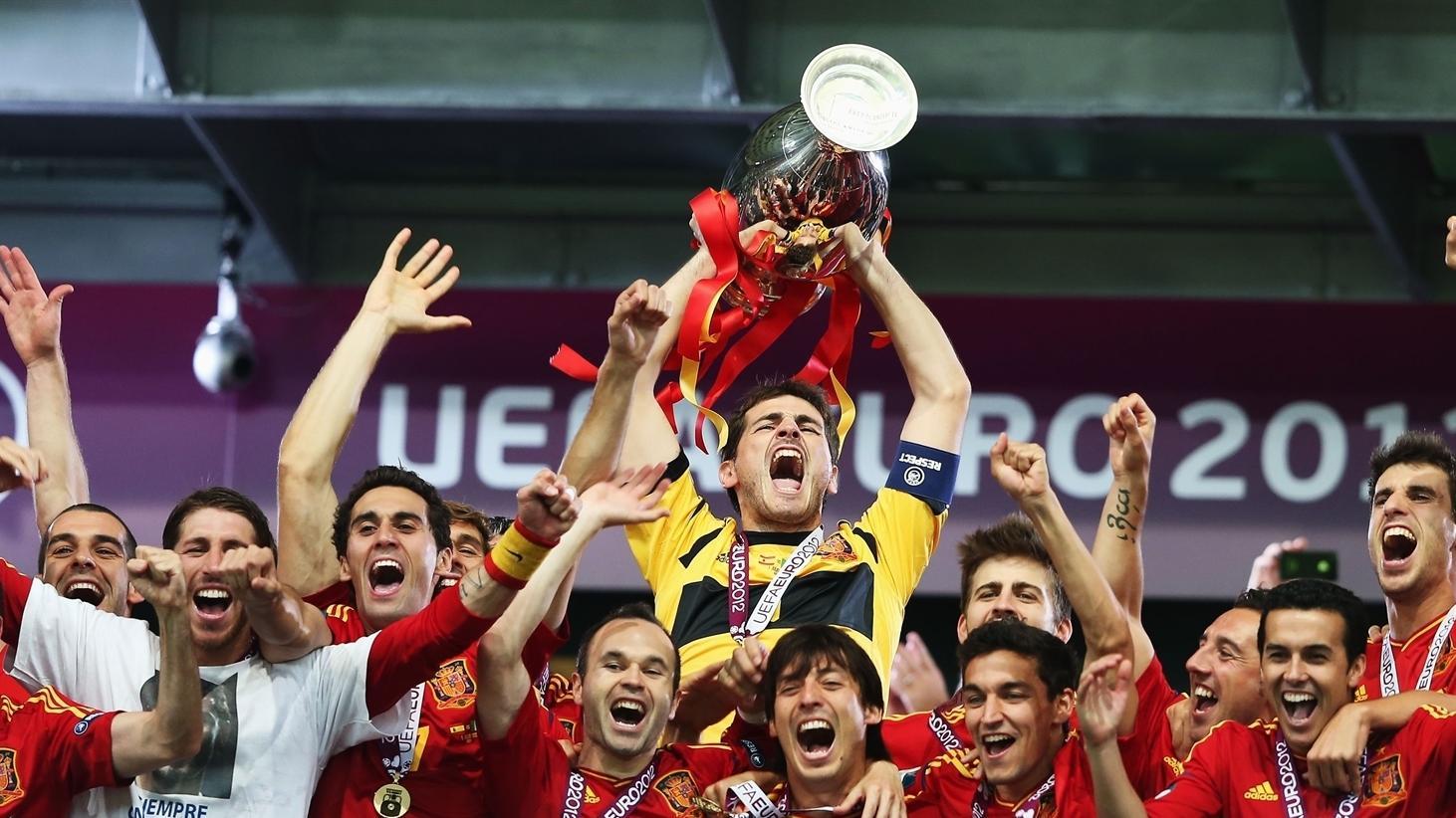 Espanha campeã da Eurocopa de 2012