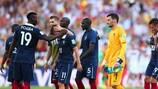 I giocatori della Francia