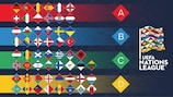 Confermata la griglia di partenza della UEFA Nations League