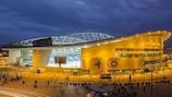 Das Estádio do Dragão in Porto ist eines der beiden Endrundenstadien