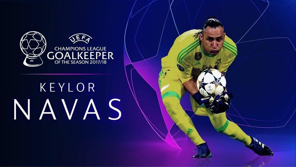 Champions League Goalkeeper of the Season   UEFA ...