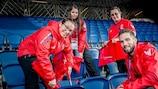 Volunteers spielen bei der Organisation der UEFA EURO 2020 eine wichtige Rolle