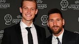 Messi y De Jong, sobre la nueva temporada del Barcelona
