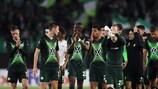 So feierte Wolfsburg den Sieg am ersten Spieltag