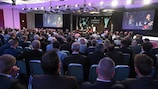 UEFA holds a keynote Stadium and Security Conference every year