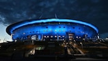 Saint Petersburg, venue for three Group B games and a quarter-final