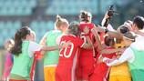 Women's U19 qualifying round report